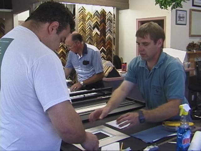 Start your own picture framing business at The American Picture Framing Academy - FL, CT, NY, MA, CA, TX, Canada, WA, OH, IL, LA,